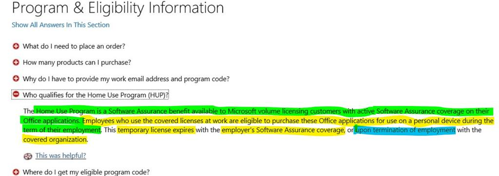 Moving a HUP License to my Microsoft account? - Microsoft Community