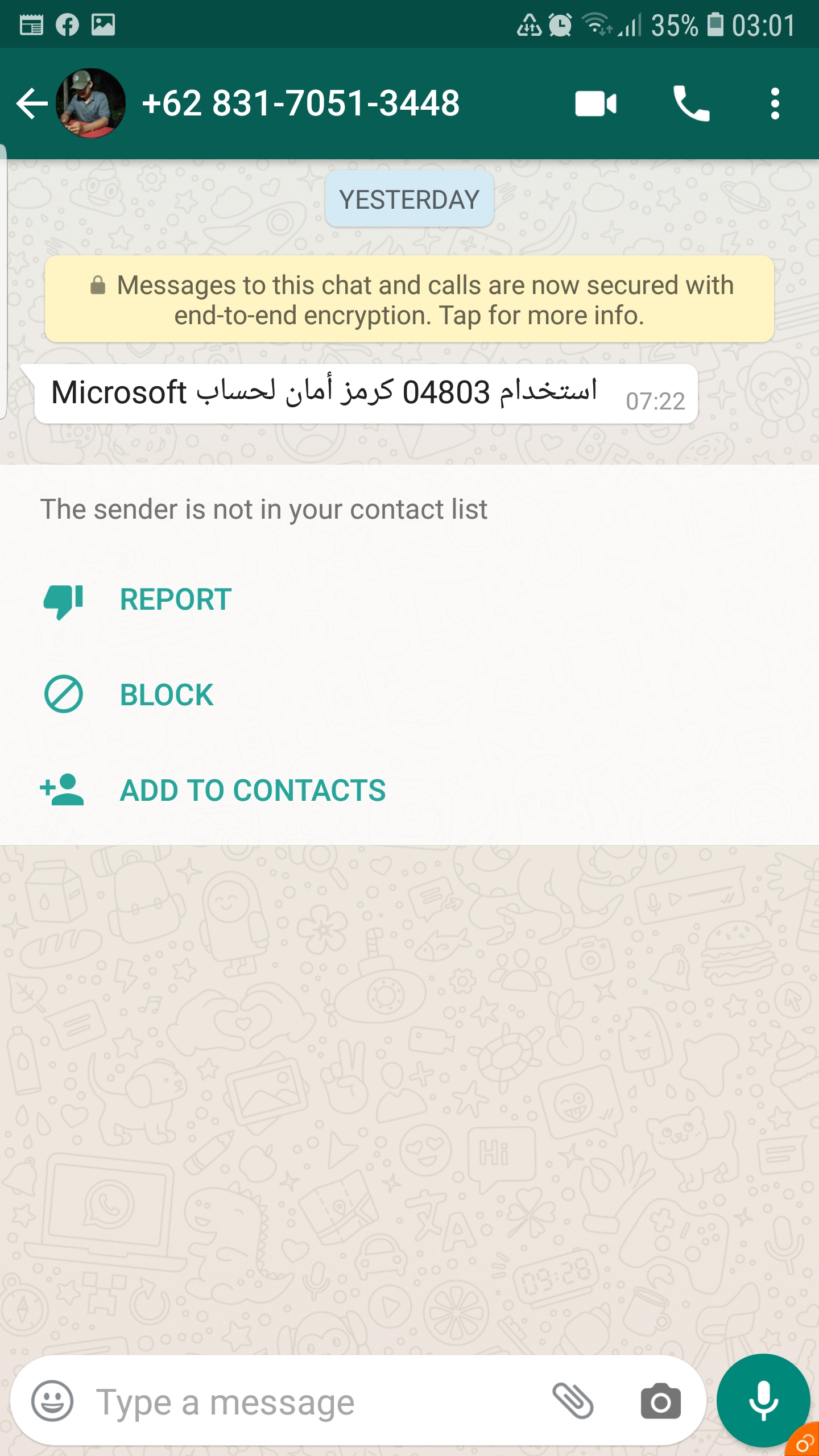 Does Microsoft Contact Their Clients Or Users Via Whatsapp Microsoft Community