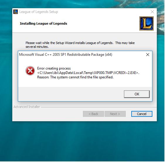 I Cannot Install Microsoft Visual C 2005 Microsoft Community