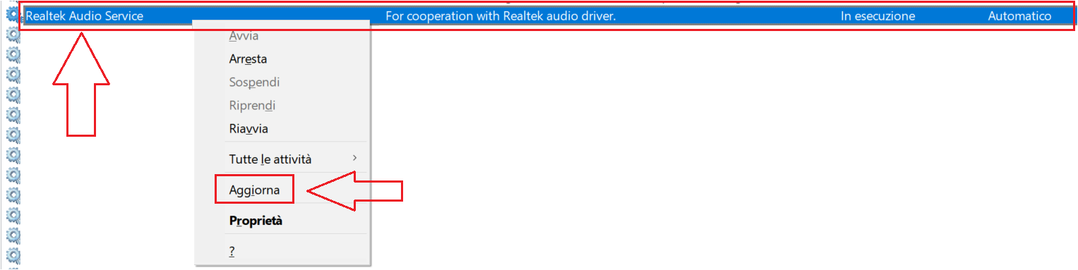 Realtek Audio Service doesn't start automatically