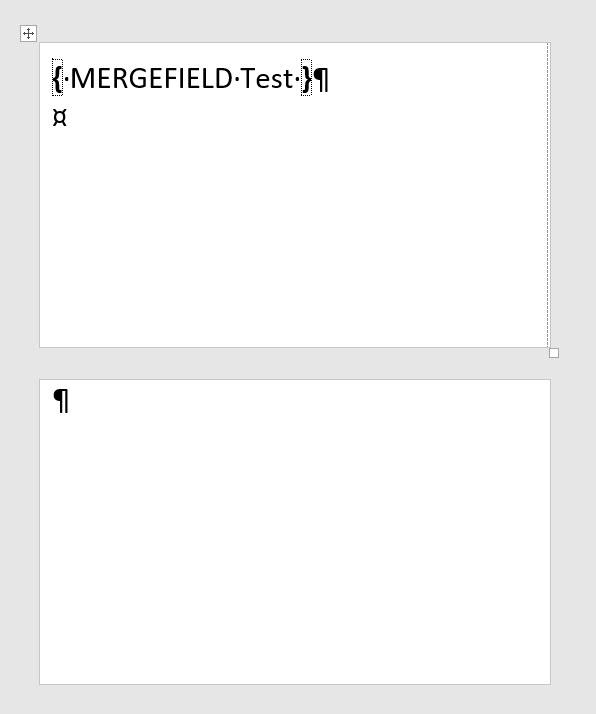 Mail Merge using Continuous Labes (Zebra) - Microsoft Community