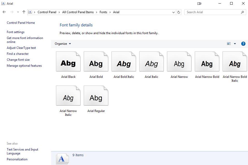 Font issues - Windows 10 Pro x64 - Microsoft Community