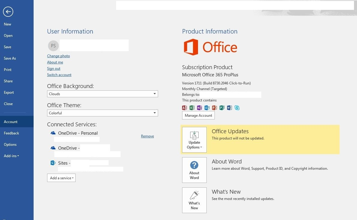 Cannot Open Word Document From Onedrive