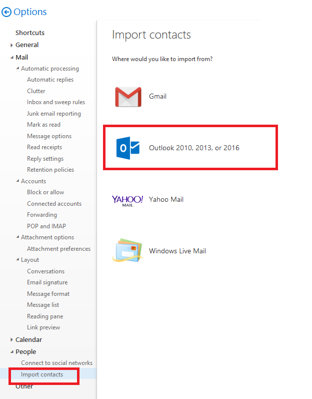 Outlook 365 - import contacts from Excel - Microsoft Community