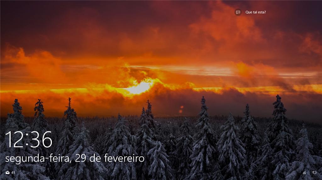 Imagens Da Tela De Bloqueio Do Windows 10 Microsoft Community