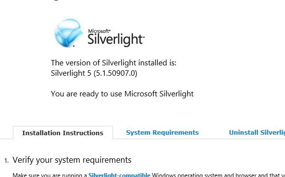 silverlight does not work 64x - Microsoft Community