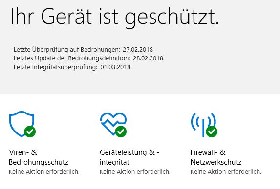 """Meldung """"Diese Datei wird von Windows Defender Antivirus überprüft"""""""