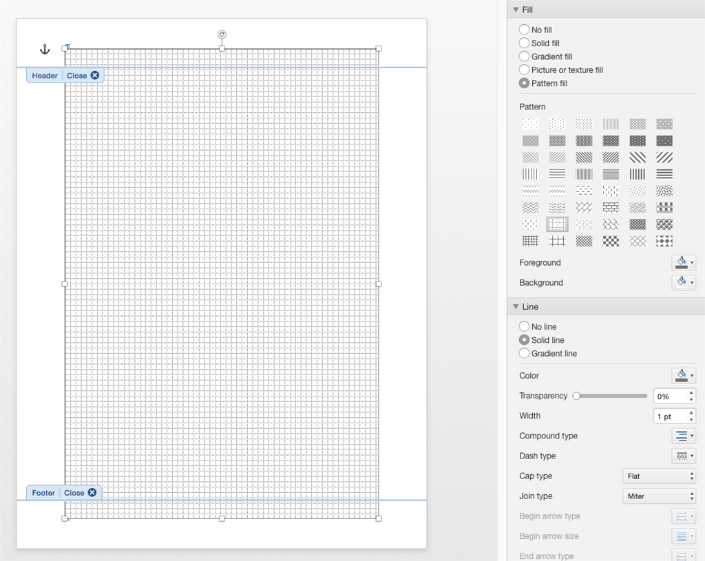 Just Keep In Mind That Header Footer Content Displays Lighter Than It Prints I Threw This Together About A Minute