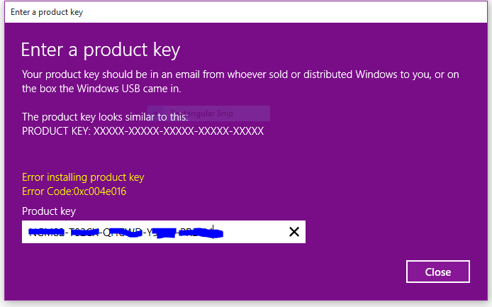 windows 10 i have product key