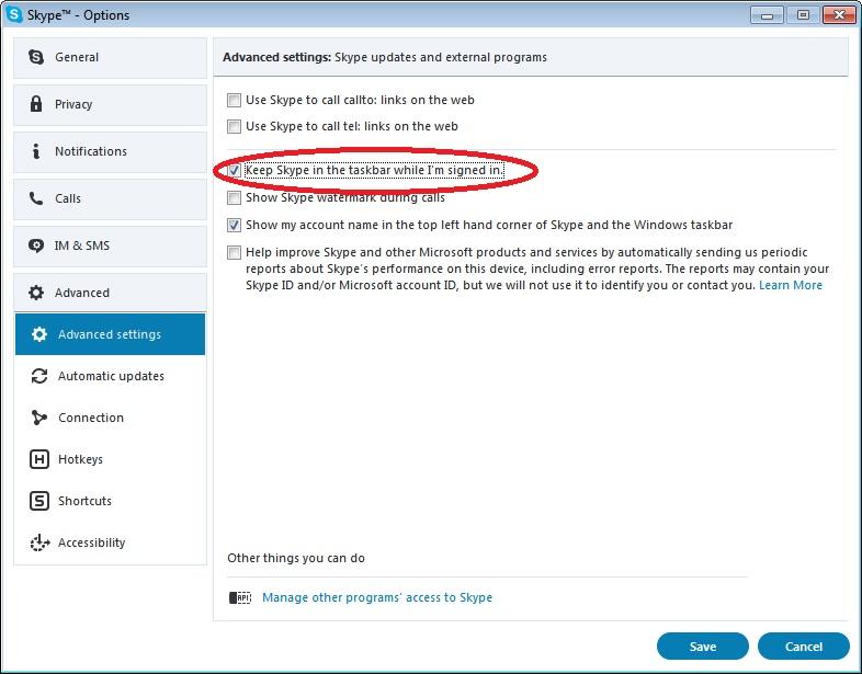 Những Thủ Thuật Để Đóng Skype Khi Bấm Nút Đóng - VERA STAR