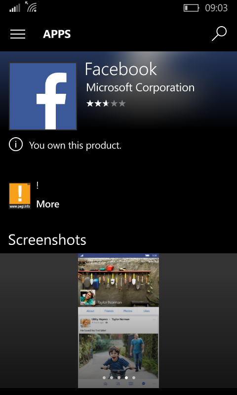 download facebook per nokia lumia 630