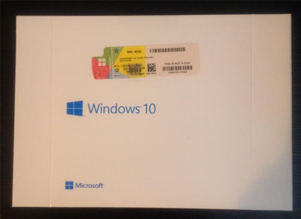 Brand new Windows 10 OEM product keys, brand new & damaged ...
