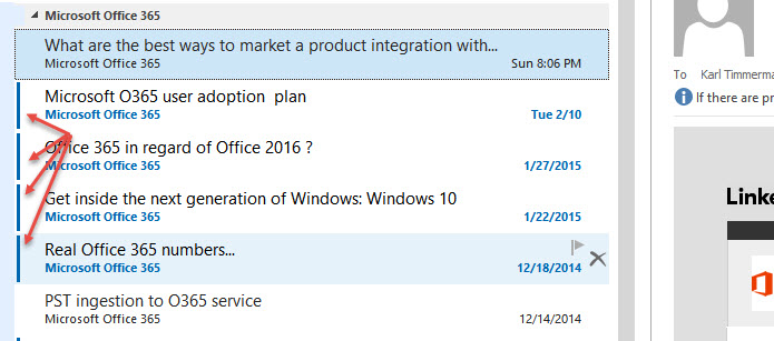 how to keep emails unread in outlook 2013