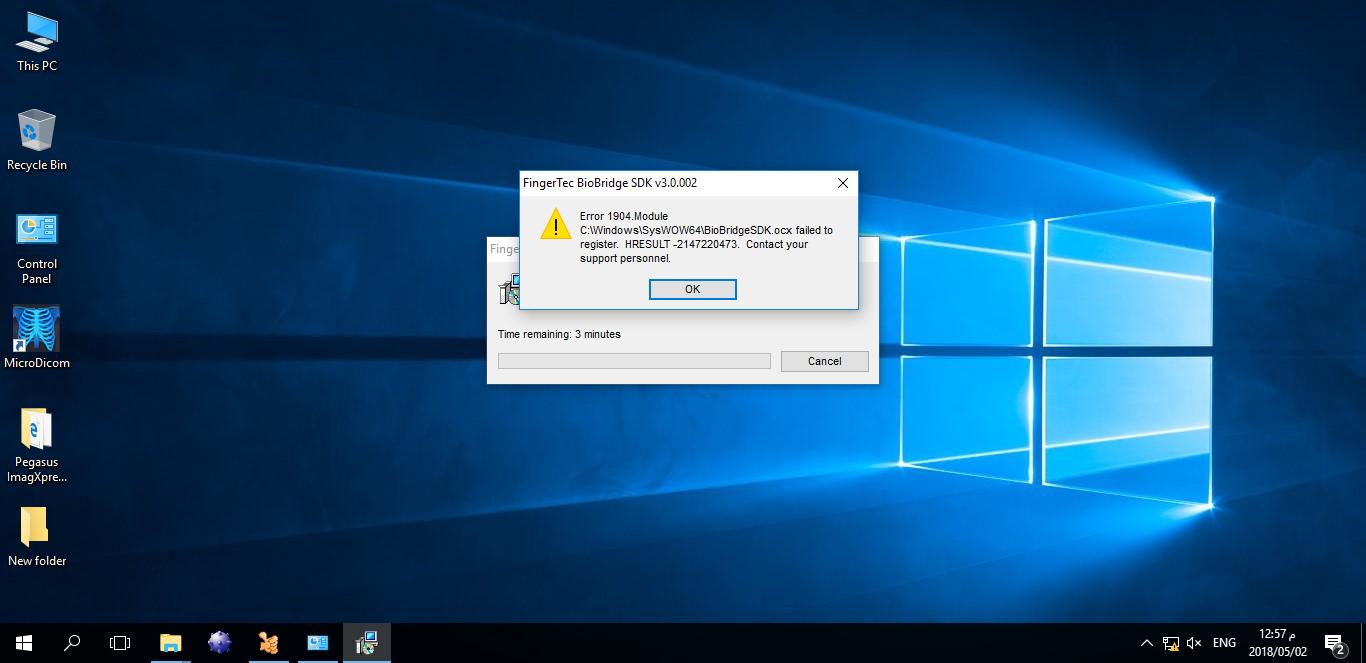 register ocx windows 10 64 bit