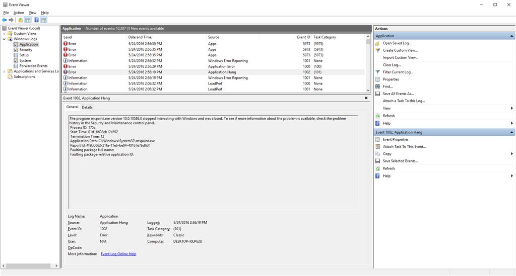 a4c94471 53fe 42eb b523 08cc9d449a77 - Application Hang 1002 Windows 10