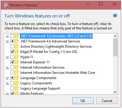 Installing. Net framework 2 on windows 10 the chewett blog.