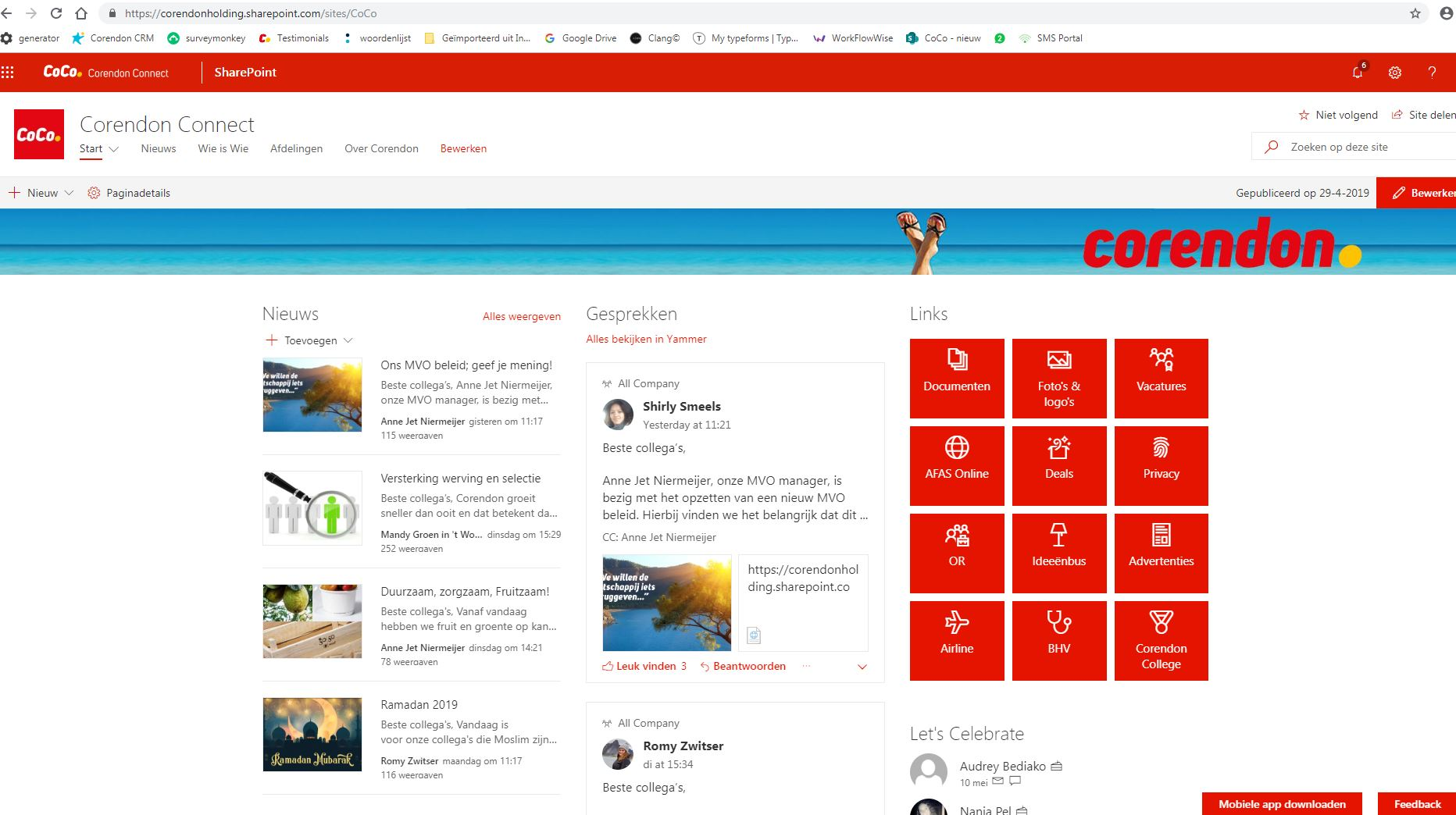 Following feed (in app) - Microsoft Community