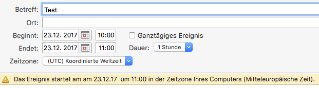 Zoom Please Check The Current Timezone In Microsoft Outlook