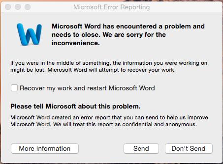 Mac Office 2011 Word help - I'm going insane! - Microsoft