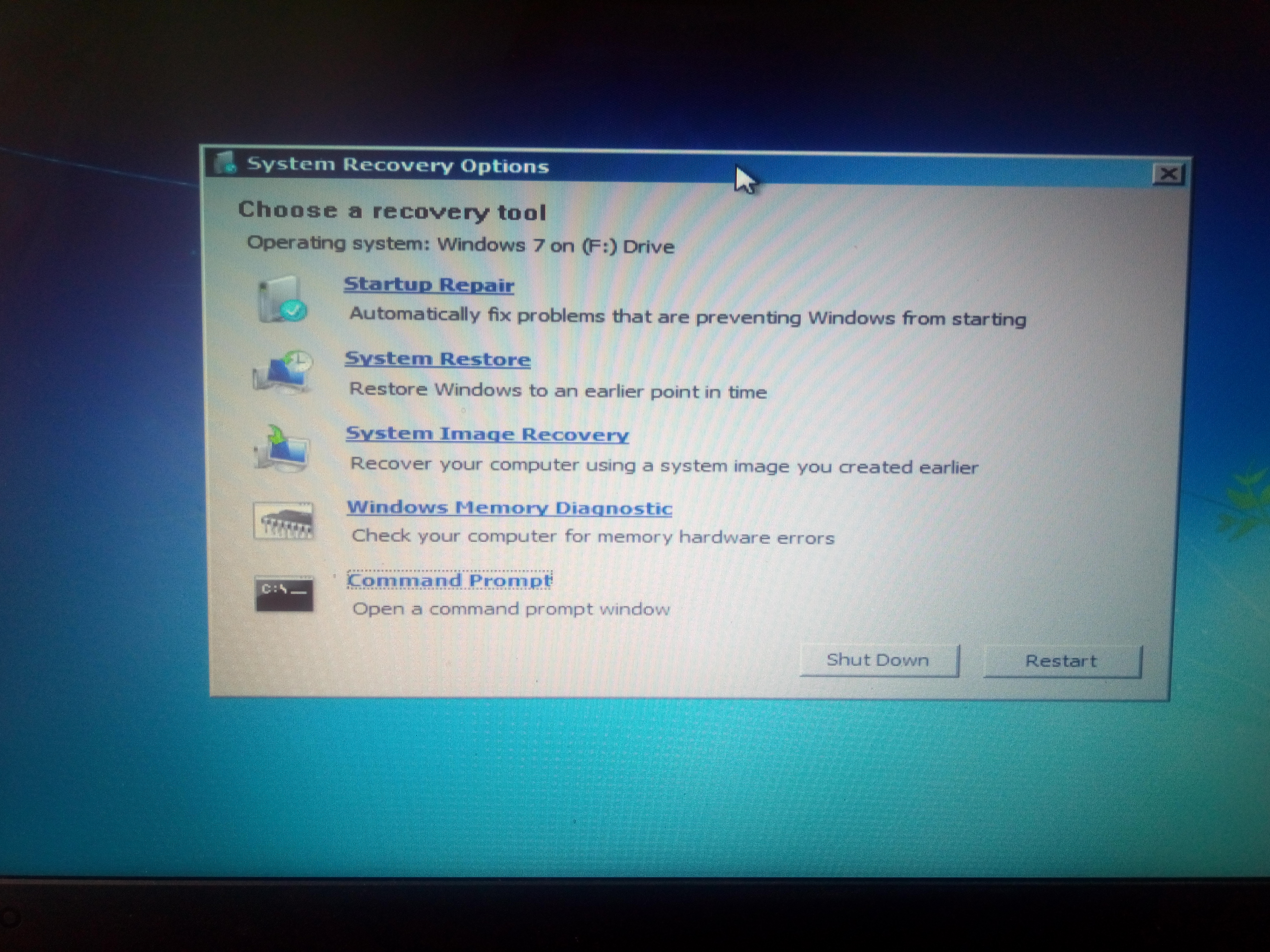 How To Repair Windows 7 Using Usb Boot How To Repair Windows