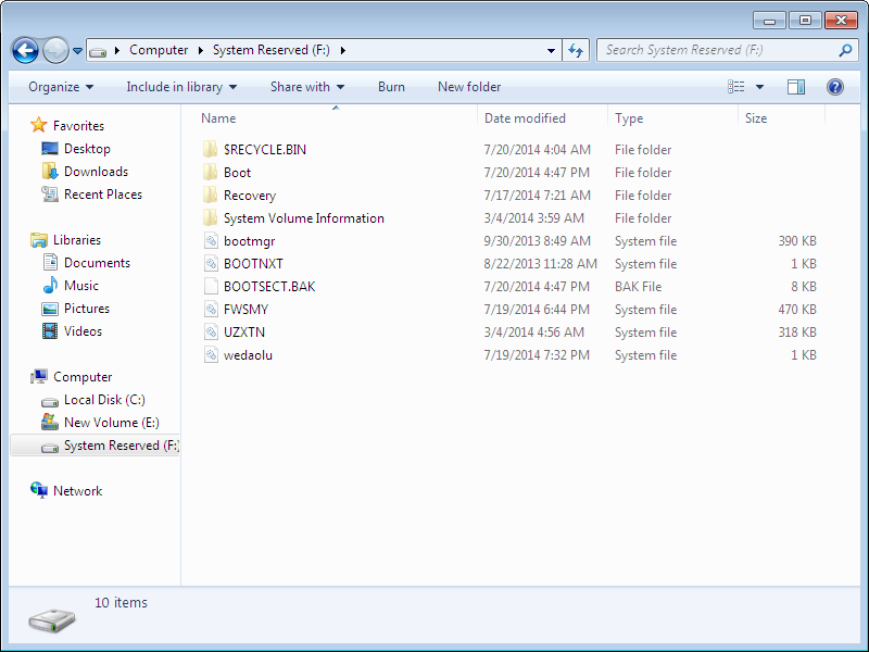 how to remove/hide system reserved Partition - Microsoft Community