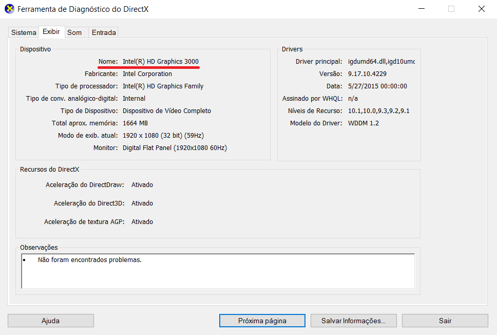 placa de video que seja compativel com direct3d