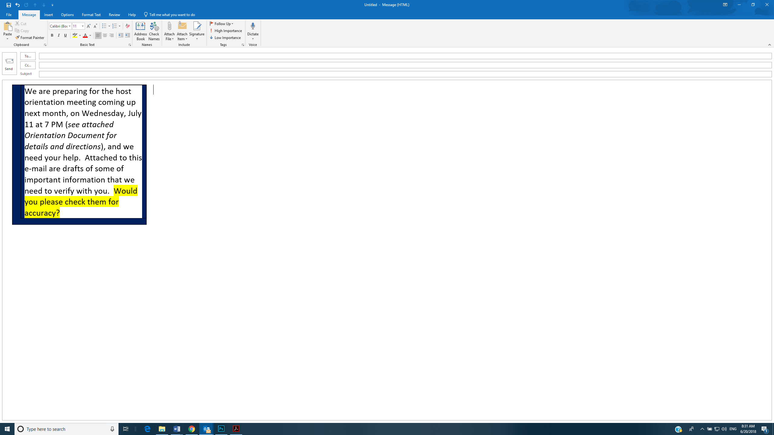 Bizarre Problem With Copy Paste From Word To Outlook Microsoft Community