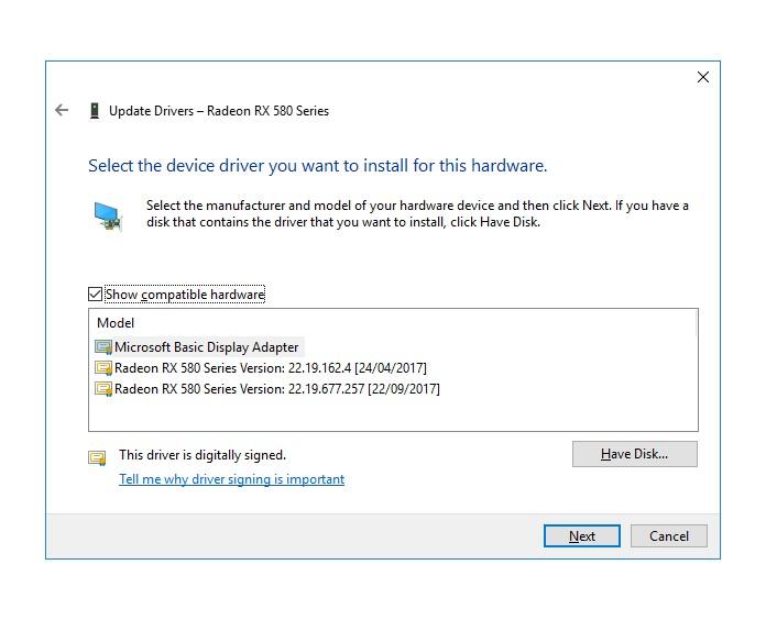 Radeon Rx 580 Windows 10 Drivers