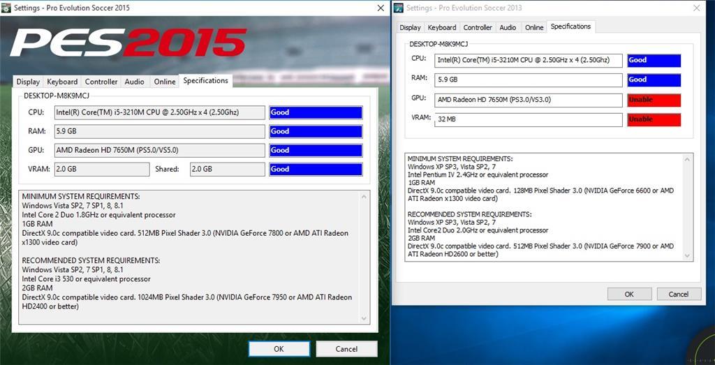 Window 10 pes 2013 - Microsoft Community