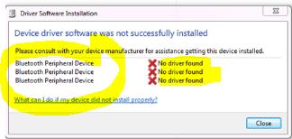 Bose QuietComfort 35 not working on Windows 7 (64bit - Microsoft