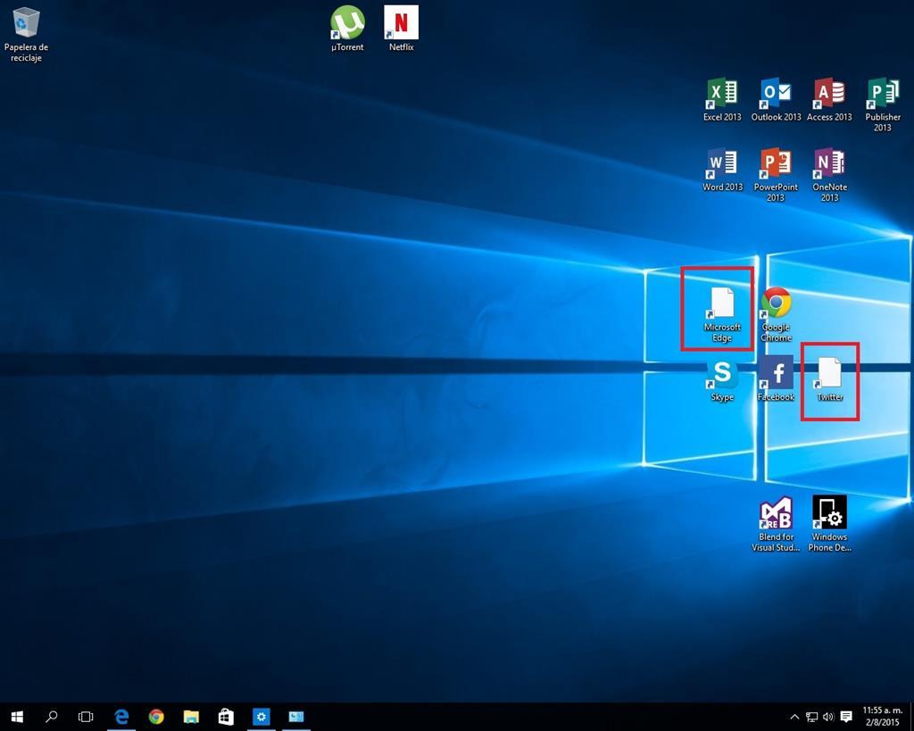 Iconos en el escritorio microsoft community - Iconos para escritorio windows ...