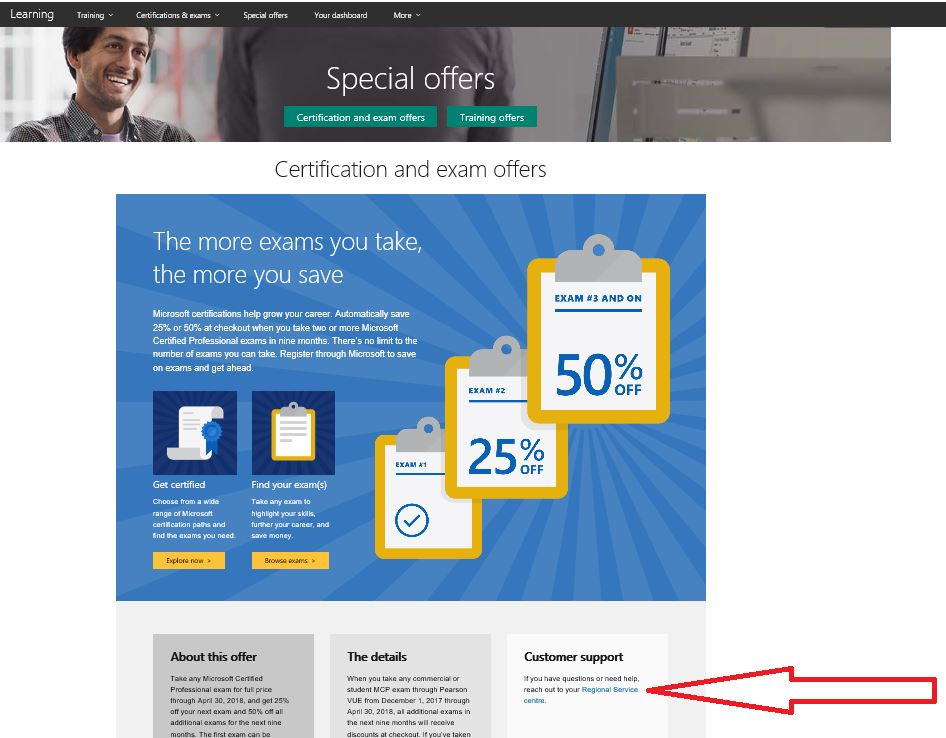 Exam Discounts Training Certification And Program Support