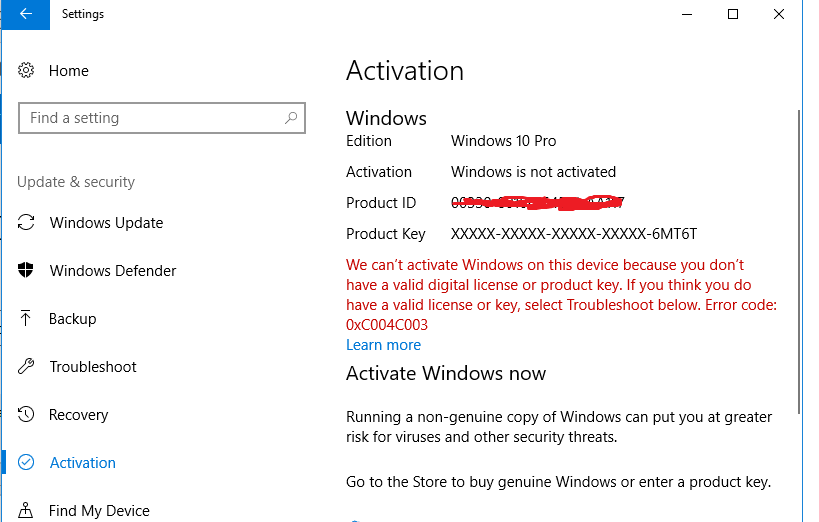 how to find my windows 10 is genuine or not