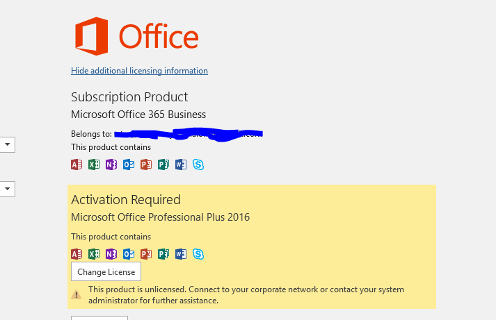 Office 365 activation after offline installation - Microsoft Community