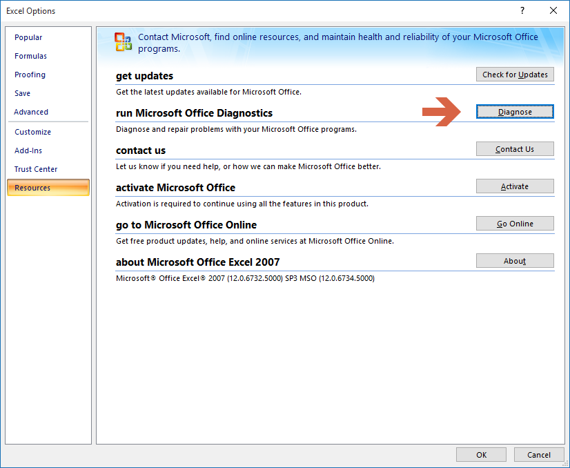 office 2007 activation
