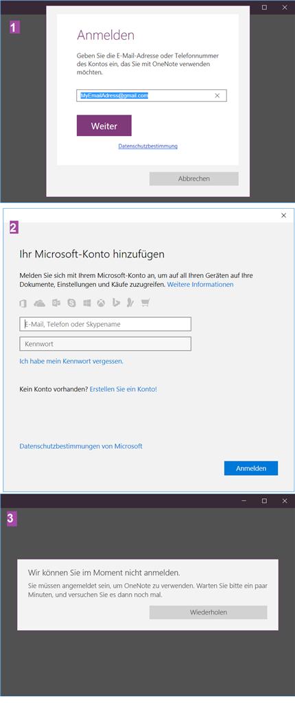 microsoft account erstellen