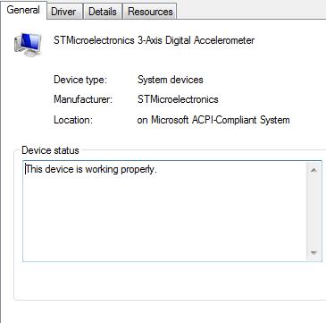 ST MICROELECTRONICS DE351DL MOTION SENSOR WINDOWS XP DRIVER DOWNLOAD