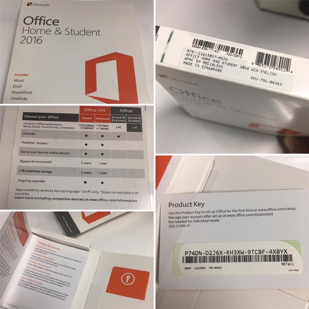 install microsoft office home & student 2016 for mac