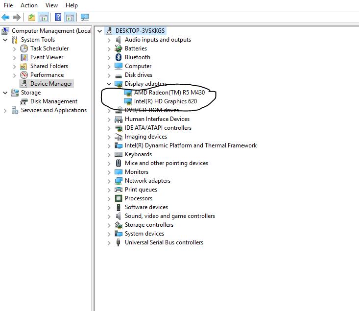 My Amd video card seems to not work - Microsoft Community