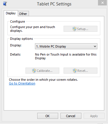 Can't Calibrate Tablet Pen - Microsoft Community