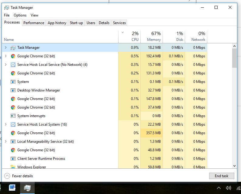 Fan constantly running despite low CPU Usage, Windows 10 - Microsoft
