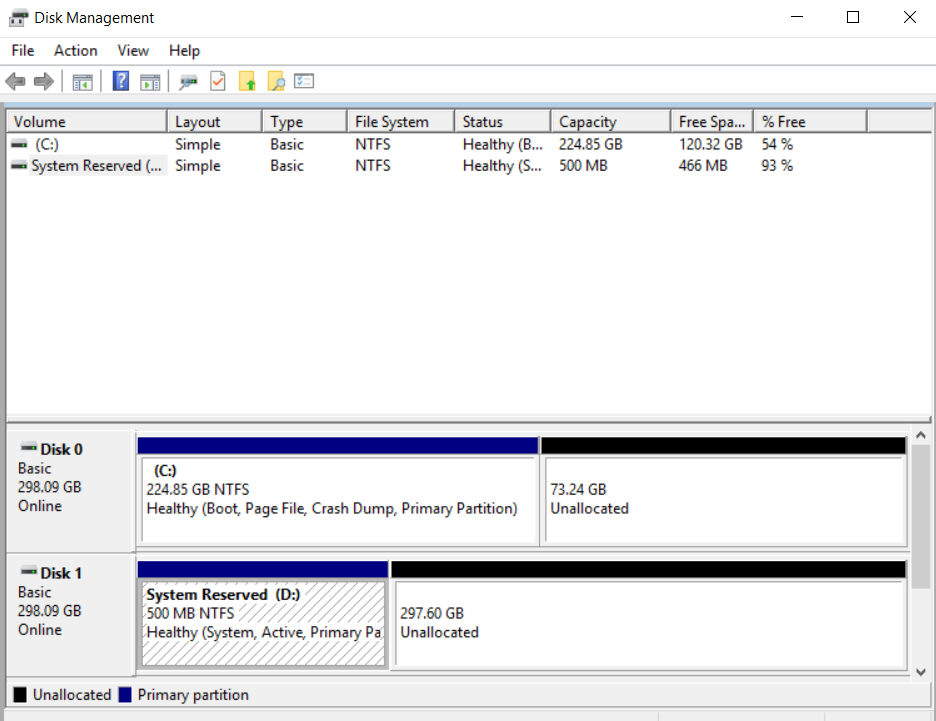 How can I move the 'System Reserved' partition? - Microsoft Community