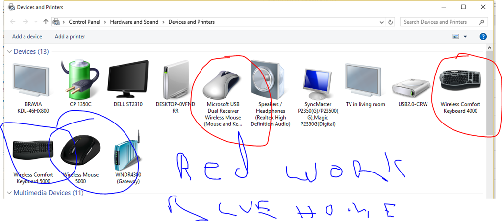 Windows 10 Adding a Mouse and Keyboard I do not have
