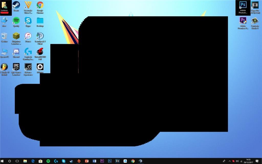 Problema Sfondo Desktop Windows 10 Microsoft Community