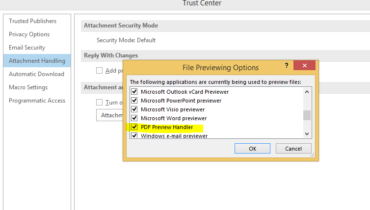 PDF Preview add-on not installed - Microsoft Community
