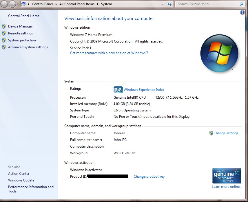 windows 7 product key format