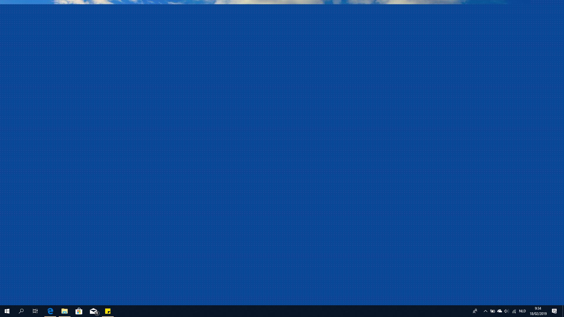 blue desktop background