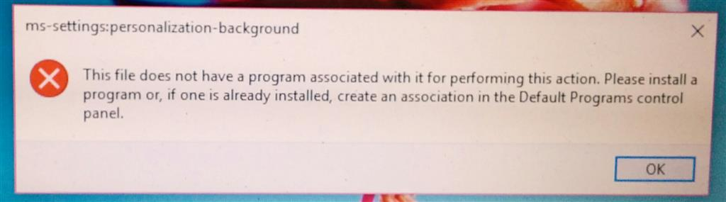 ms settings personalisation background microsoft community