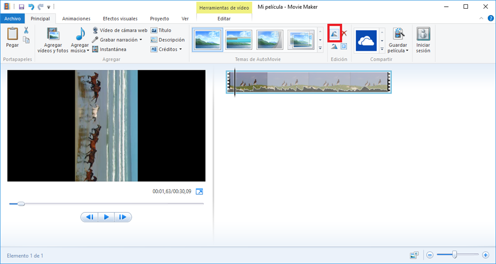 como girar video mp4 en windows media player