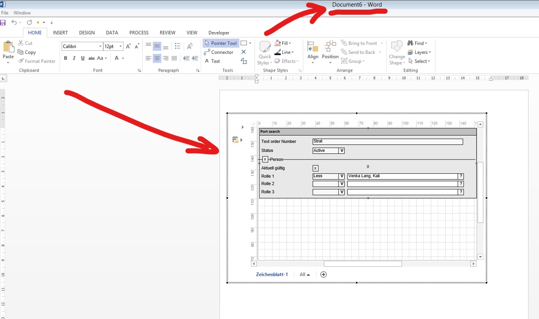 Editing Visio Drawing Within The Word Document Microsoft Community